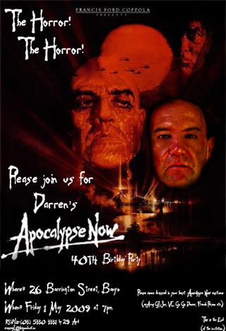 Apocalypse Now Invitation