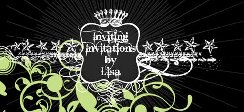 Hof3_GreenSwirled_banner_inviting invitations by lisa